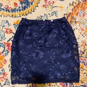 SALE LUCY IN THE SKY lace skirt